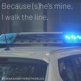 Because (s)he's mine, I walk the line..p