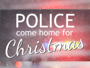 Police Come Home for Christmas