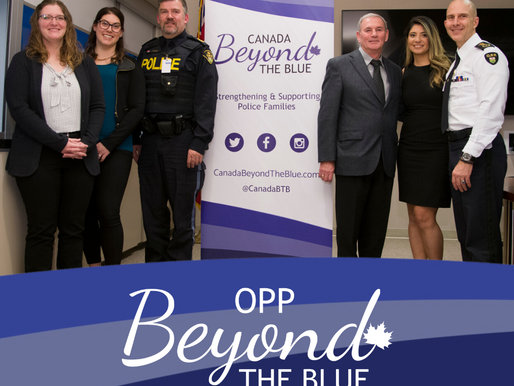Canada BTB Welcomes OPP Chapter