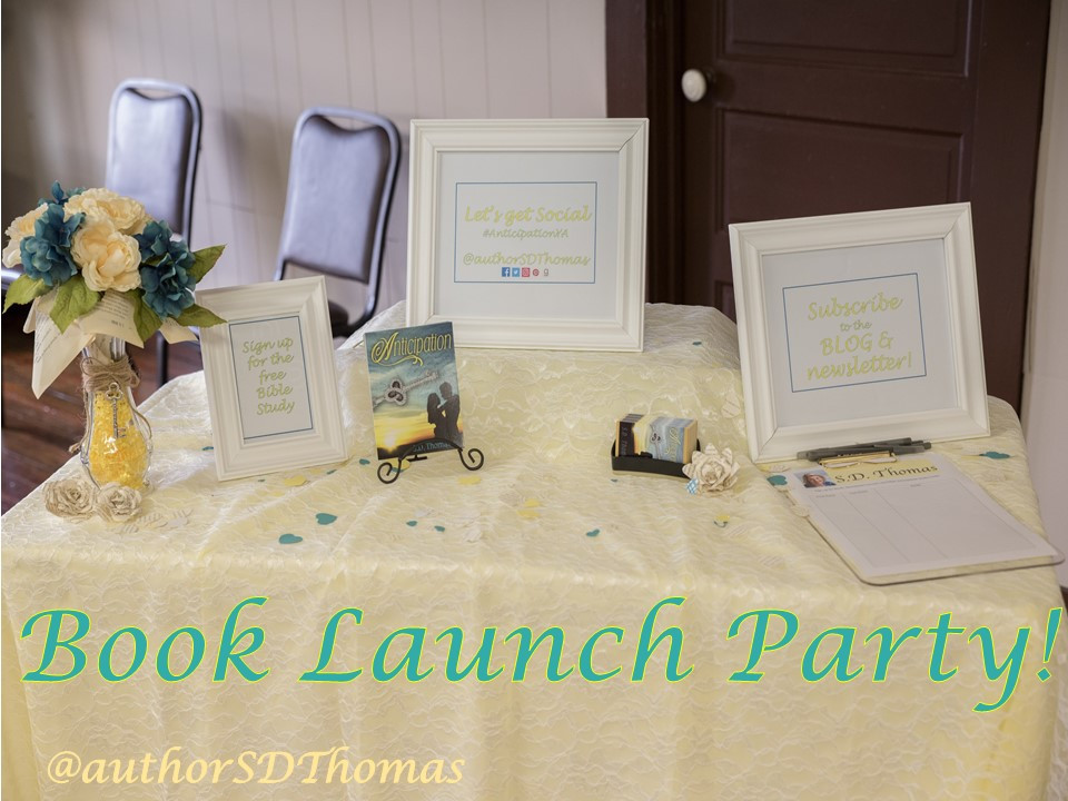 Book Launch Party- Sociable Table