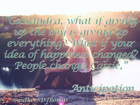People Change...
