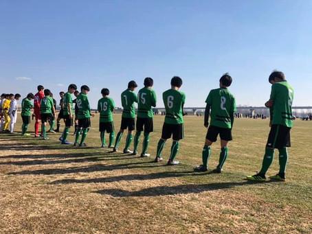 U-14クラブ選手権《決勝トーナメント3回戦》