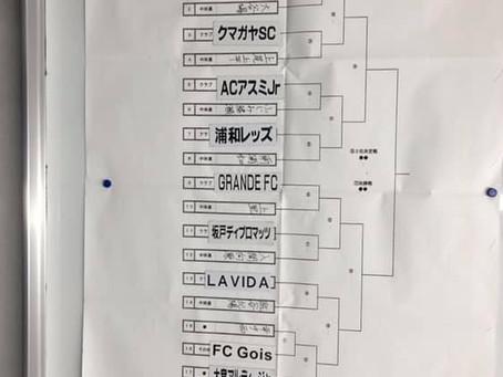 埼玉県ユース(U-13)サッカー選手権大会 組み合わせ