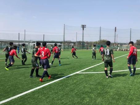 新U-15トレーニングマッチ