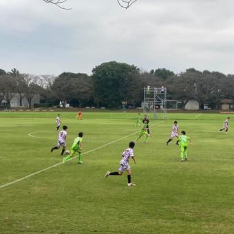 U-14トレーニングマッチ vs 柏レイソル & 湘南ベルマーレEast