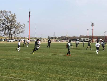 新U-13トレーニングマッチ