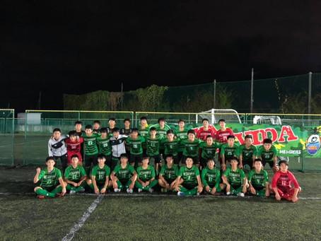 埼玉県ユースU-15サッカーリーグ1部《最終戦》