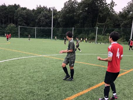 TOPチーム トレーニングマッチ vs フォーリクラッセ仙台