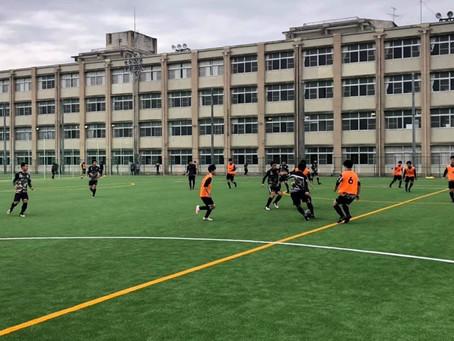 新U-15 & 新U-13トレーニング