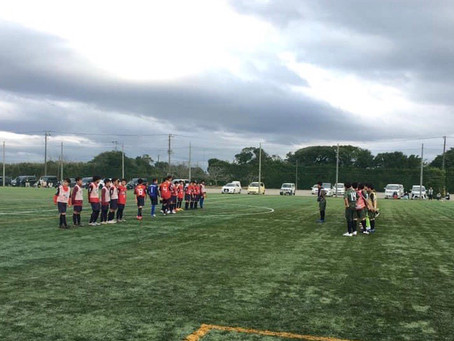 U-13トレーニングマッチ vs 鹿島アントラーズ