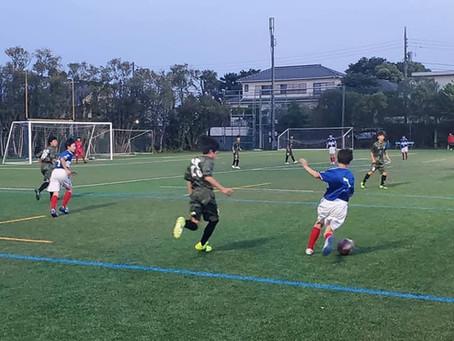 U-13トレーニングマッチ vs 横浜Fマリノス