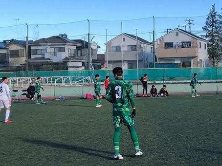 U-15トレーニングマッチ