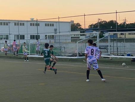 U14トレーニングマッチ vs Wings(千葉)