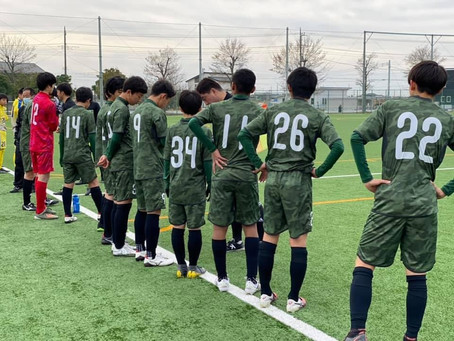 埼玉県クラブユース(U-14)サッカー選手権大会《決勝トーナメント1回戦》vs  KAWAGUCHI