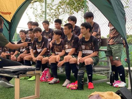 U-15トレーニングマッチ vs 横浜Fマリノス