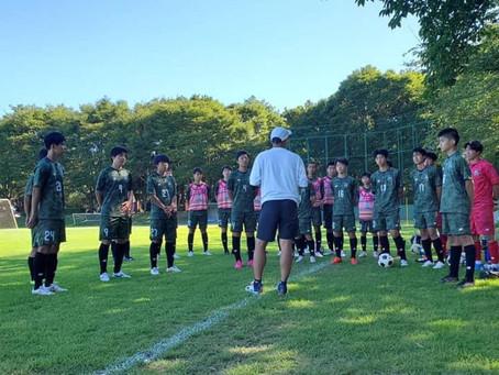 U-14トレーニングマッチ vs 柏レイソル
