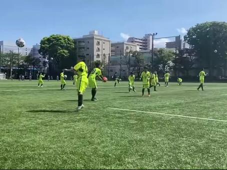 U-13トレーニングマッチ vs 東京武蔵野シティFC