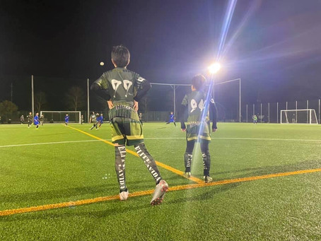 LAVIDAジュニアエリート軍 トレーニングマッチ vs TDFC