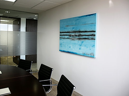Todd Williamson, Abstract Art, Monochromatic, Contemporary Art, Brenda Harrop, LA Art Advisory, Oaktree, Corporate Art
