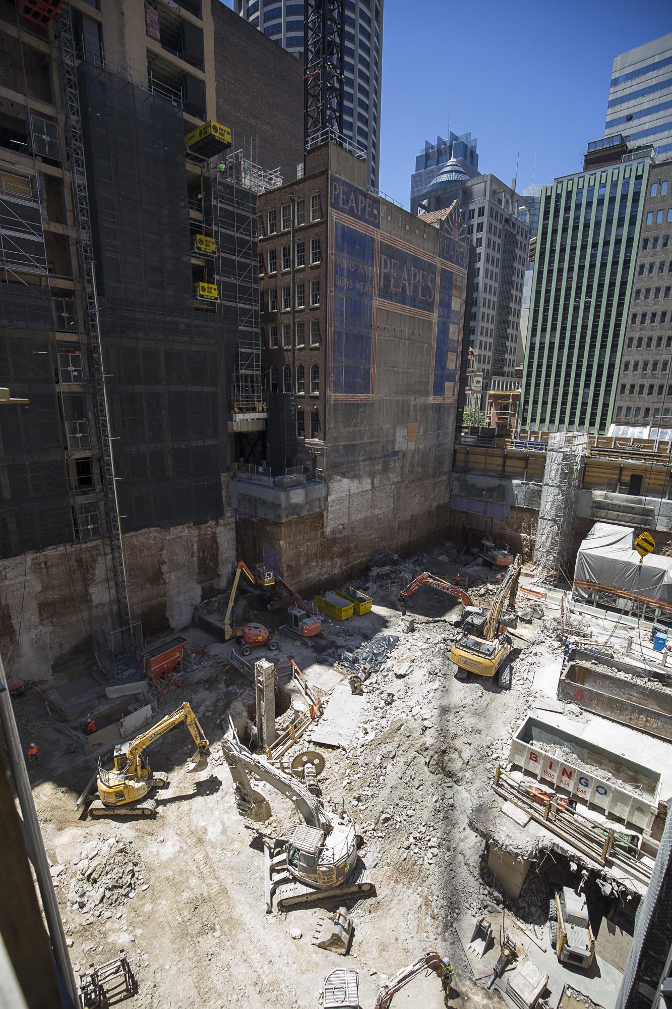 Civil works underway