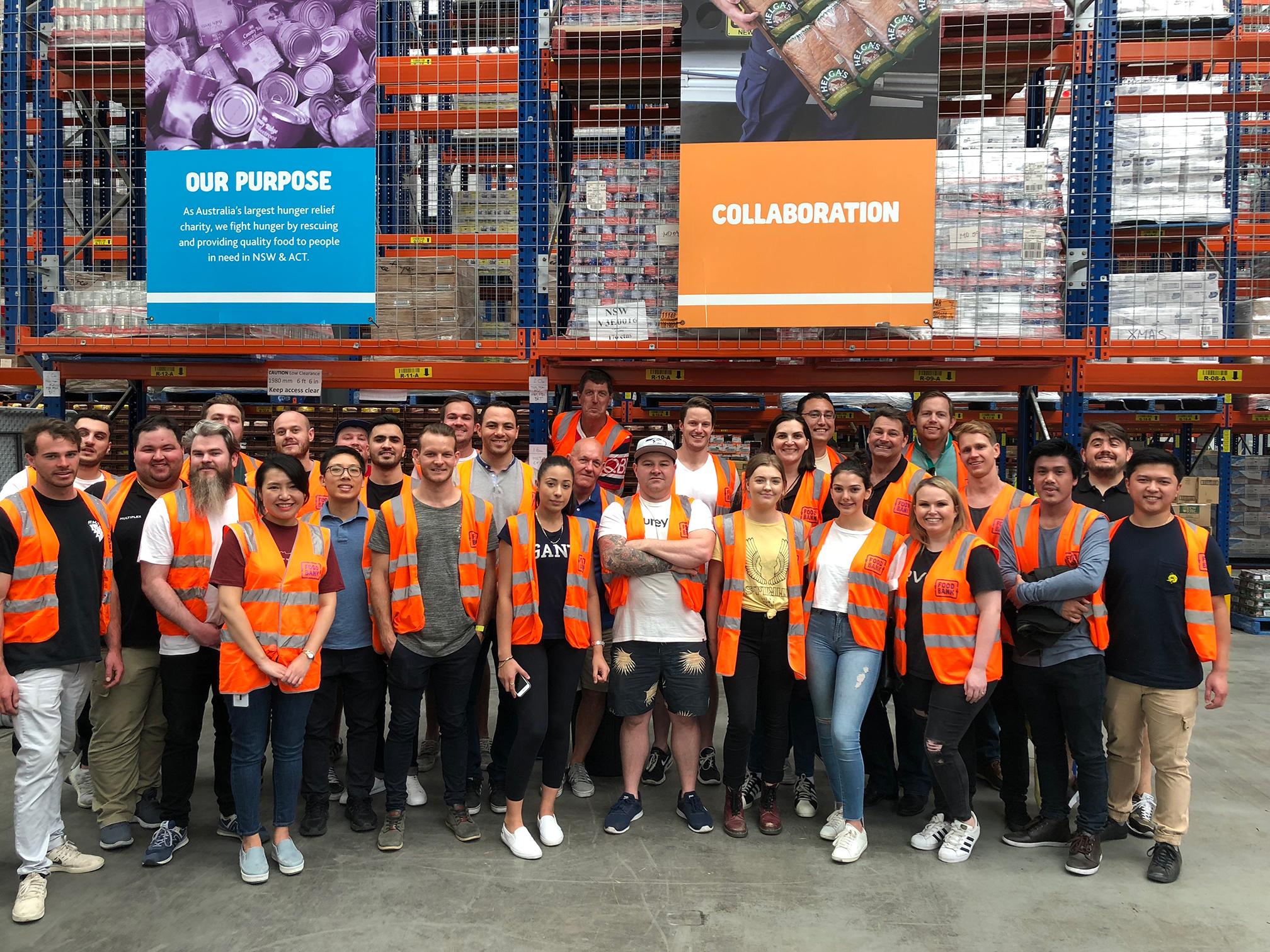 14 - Team Volunteer Day aT Foodbank