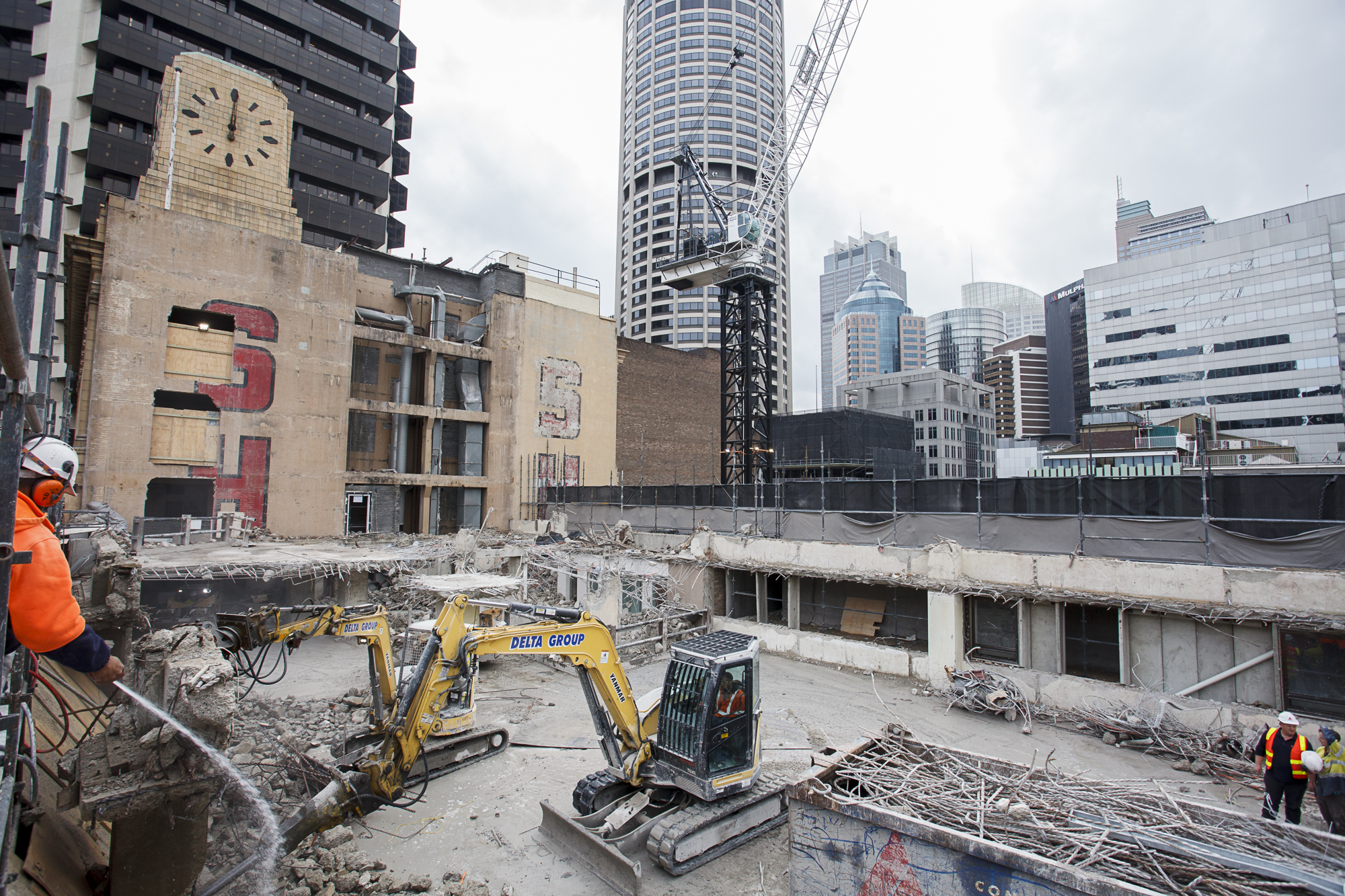 Tower Menzies Level 8 South Demolition - MA CROP