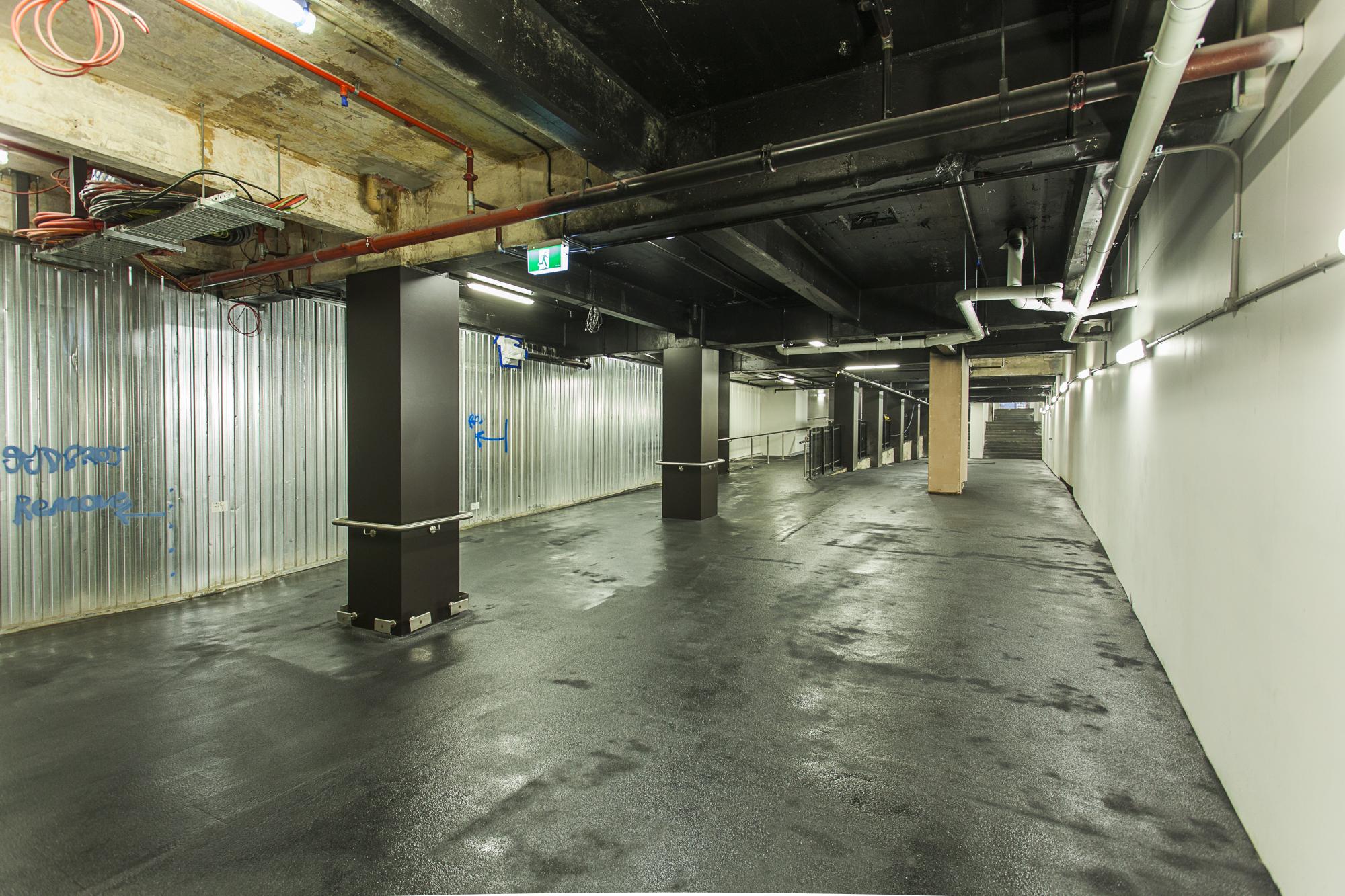 Concourse Pedestrian Access progress