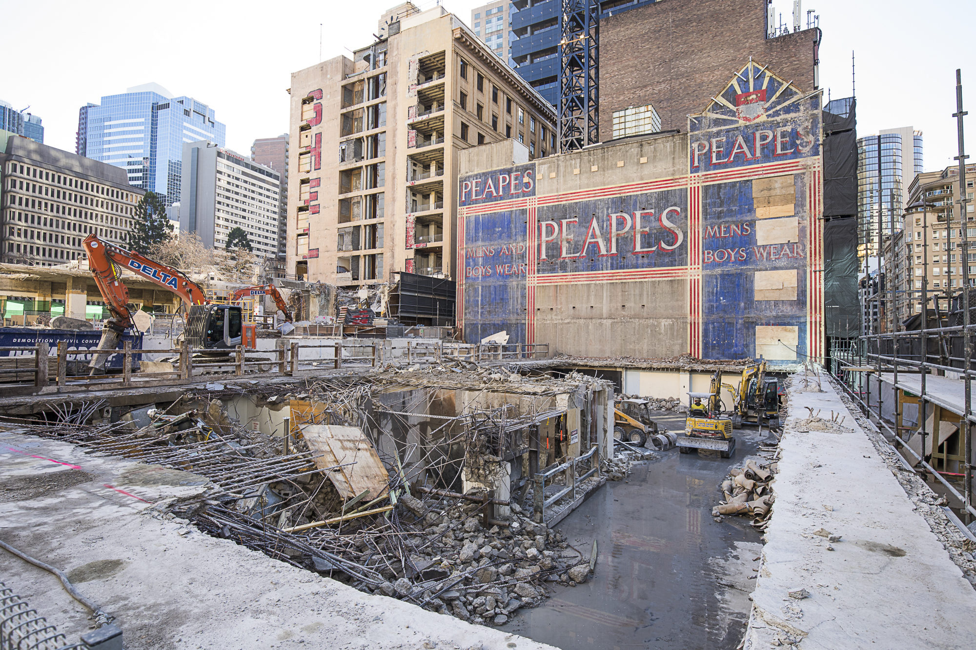 9 Tower - Demolition Level 2 301 George