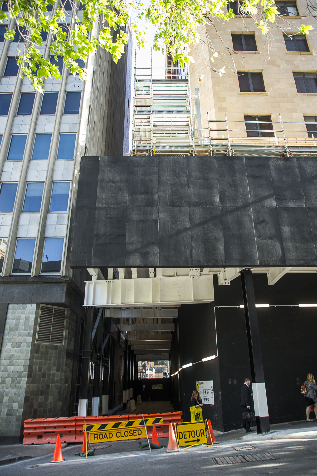 Completion of Facade Retention Base Unit - Shell House