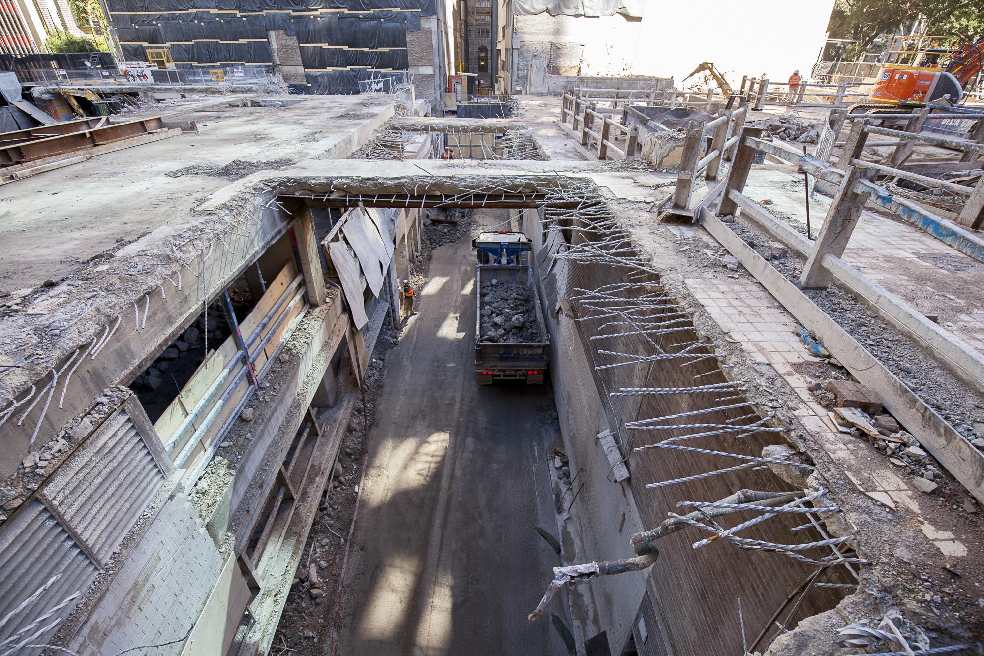 2 Tower - Wynyard Lane uncovered
