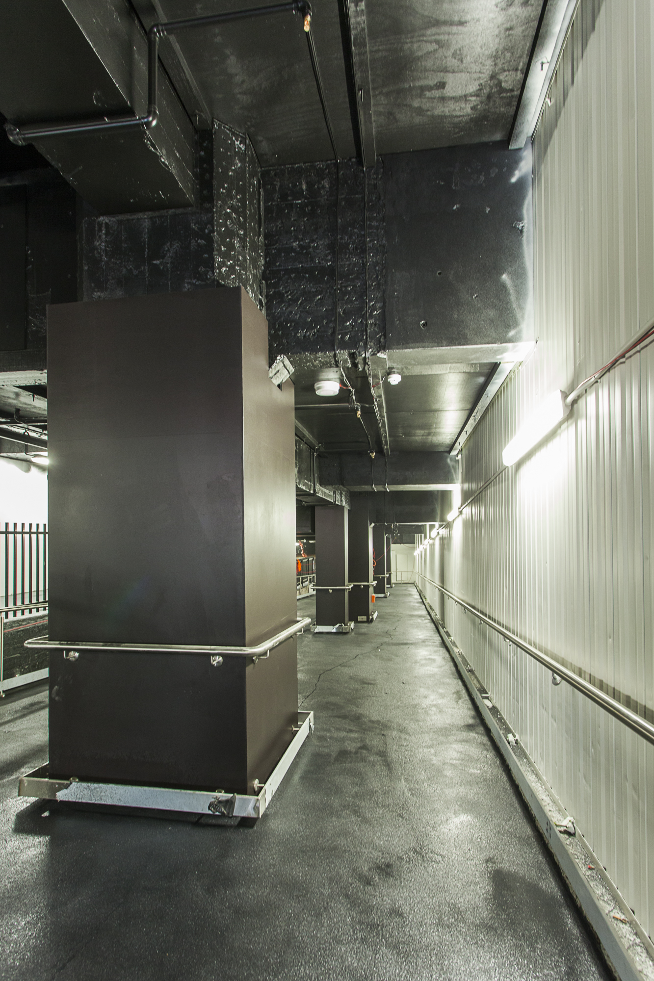 Ramp at Concourse Level