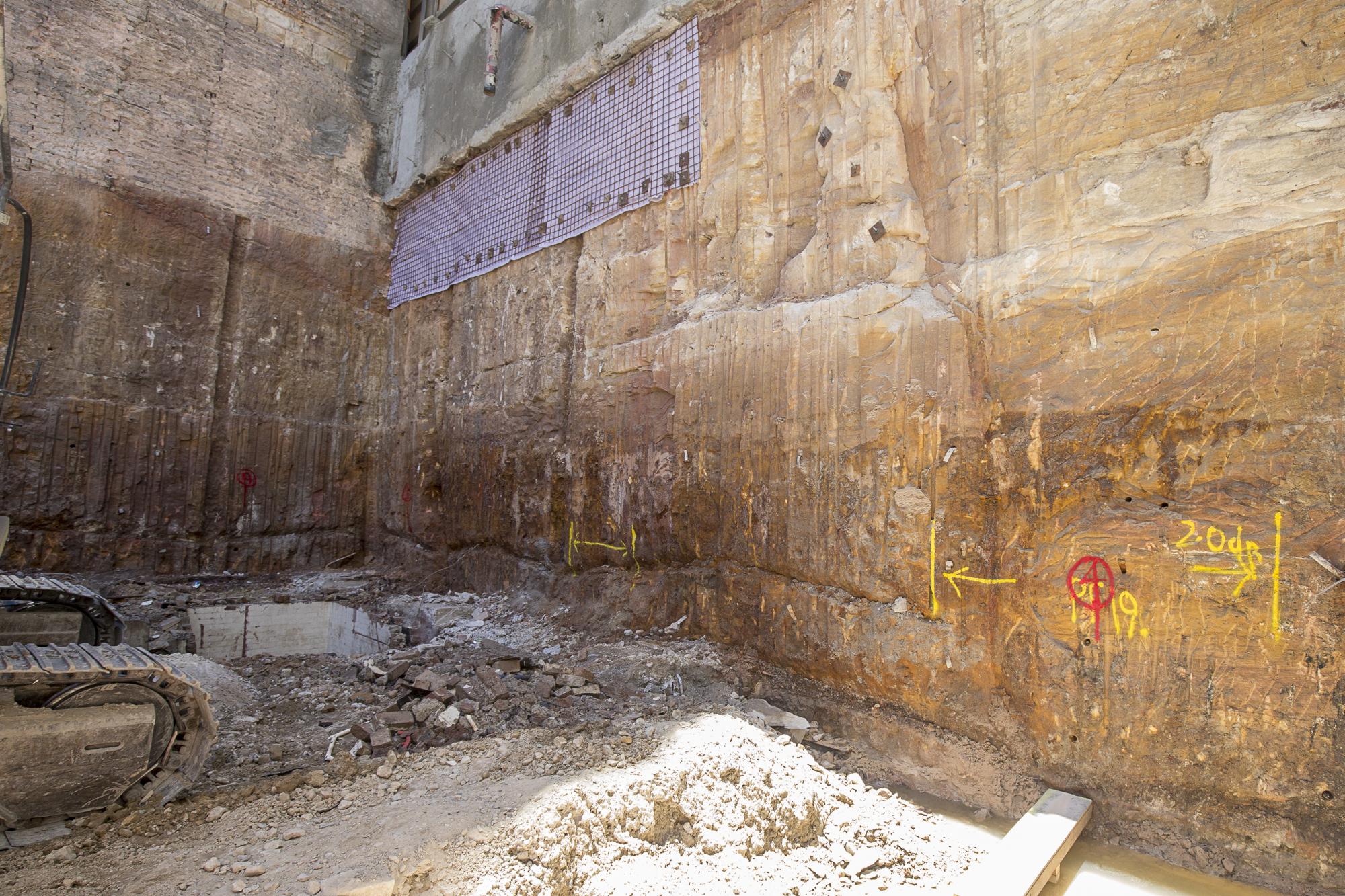 Demolition complete (eastern side)