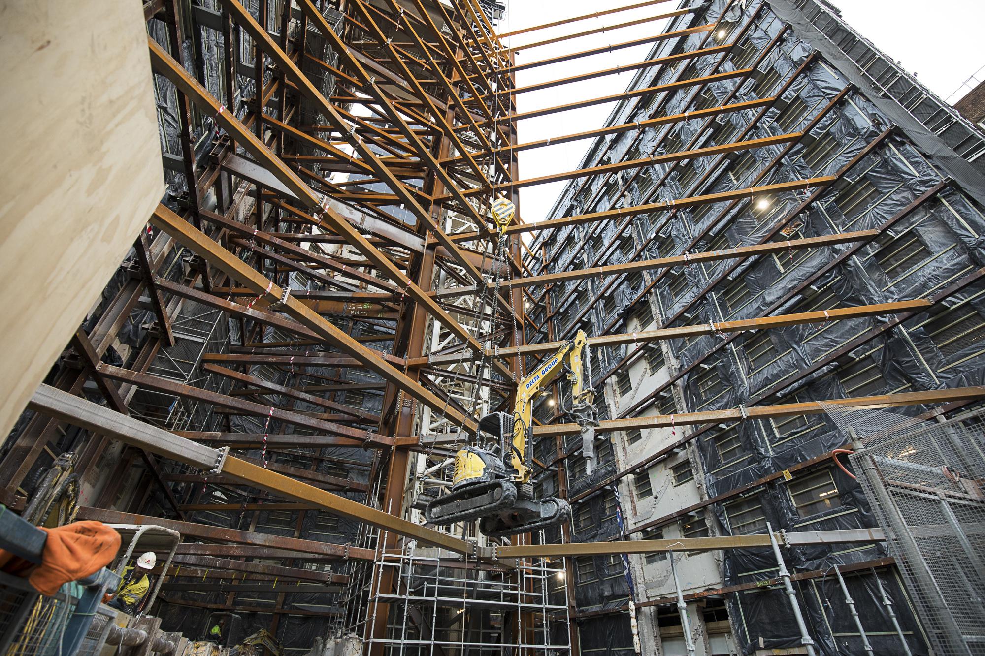 WP-029 - Shell House demolition at basem