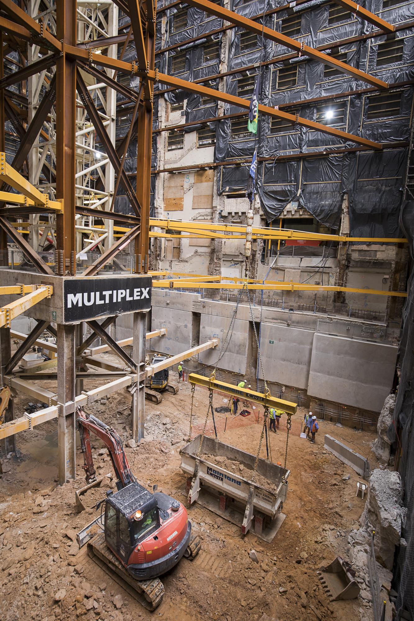 001 SH excavation progress TO