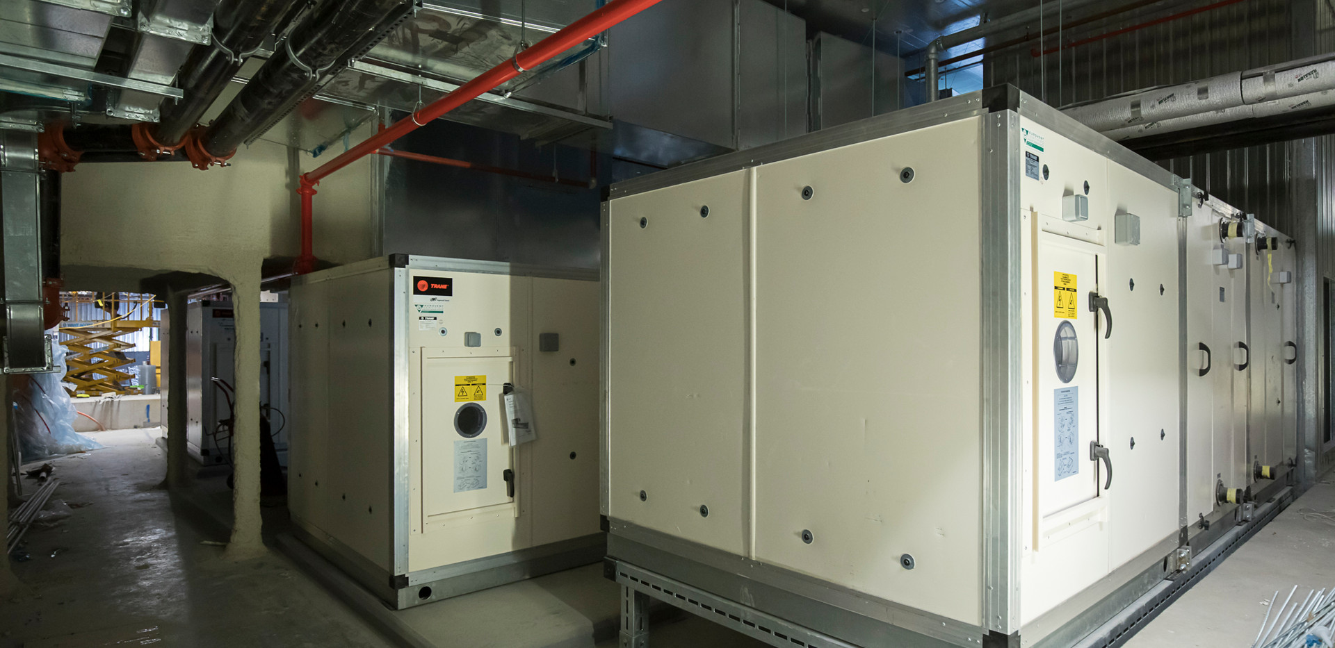 Both Generators Level 1 Tower Plantroom.