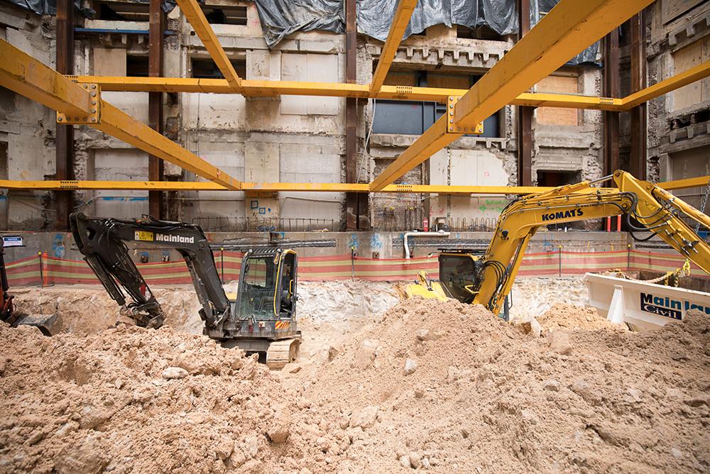 10 - Bulk excavation first level