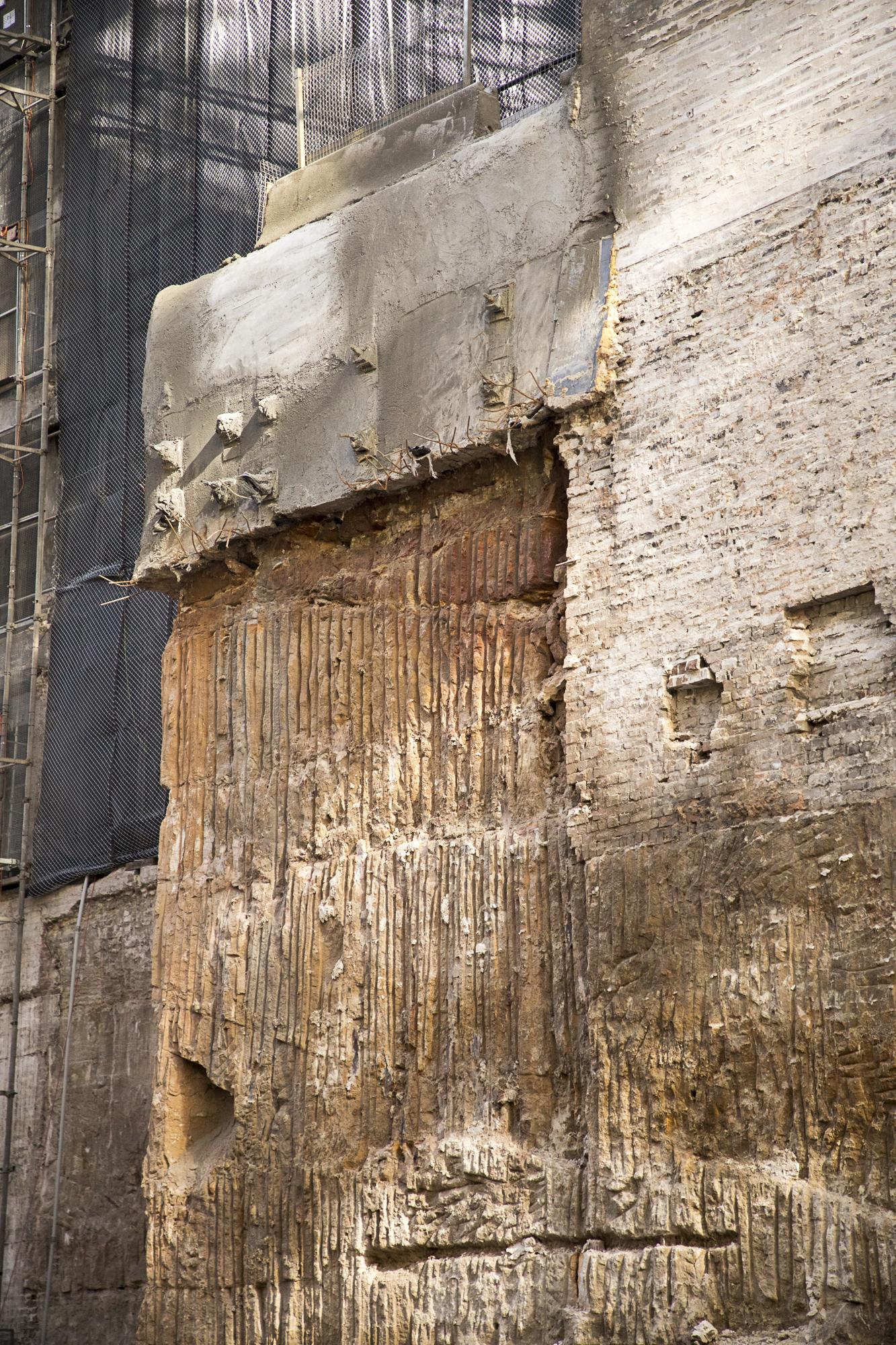 Demolition below Wynyard Lane