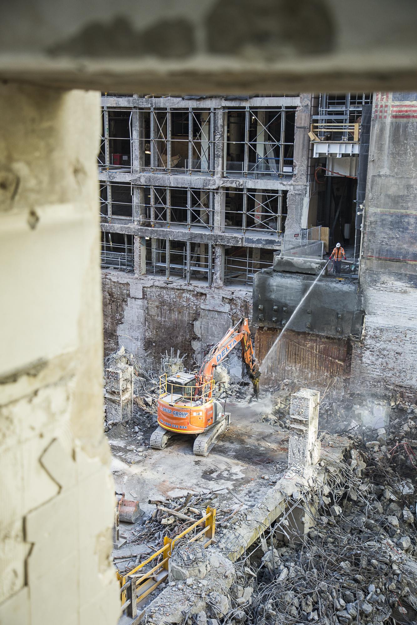 Basement demolition 2