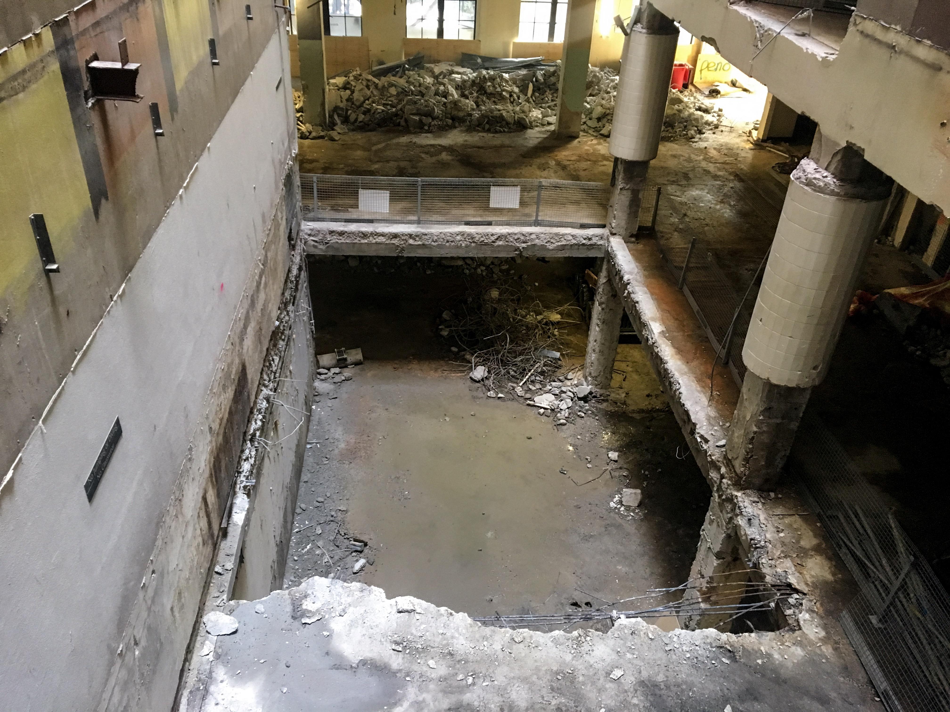Tower Shellhouse Demolished Pool