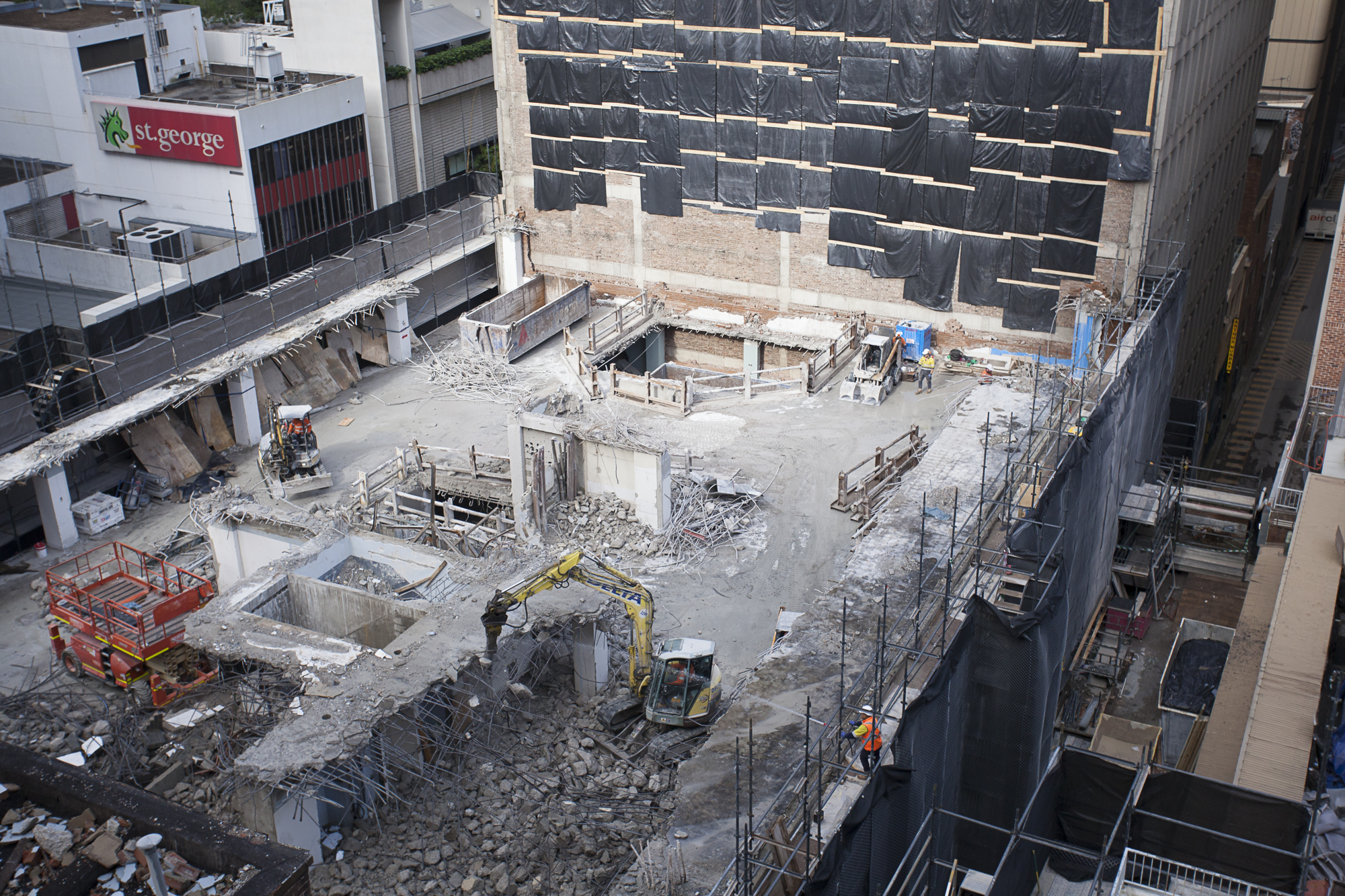 7 Tower Level 6 Removal on 301 George St