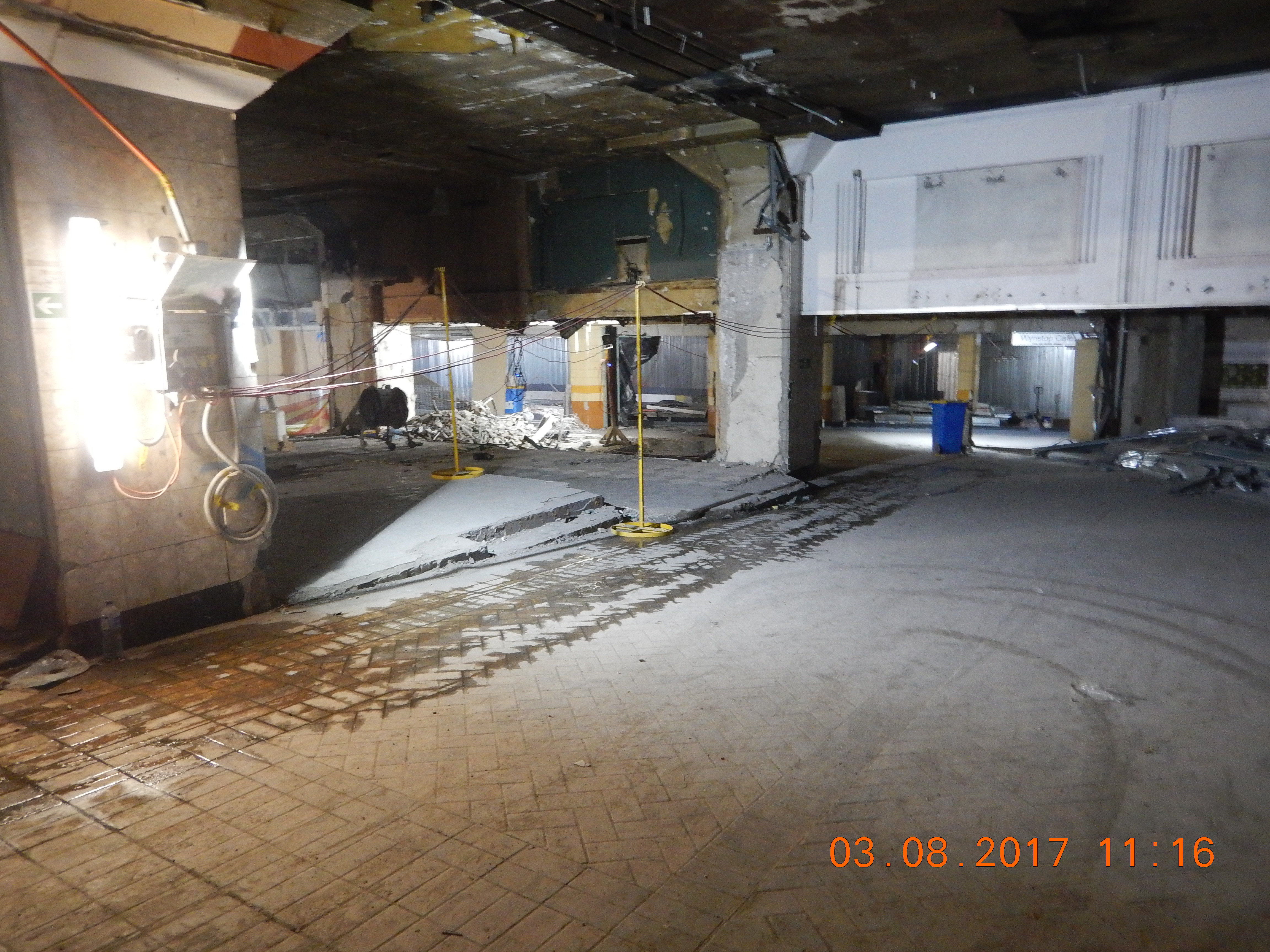 3 Northern Concourse looking west
