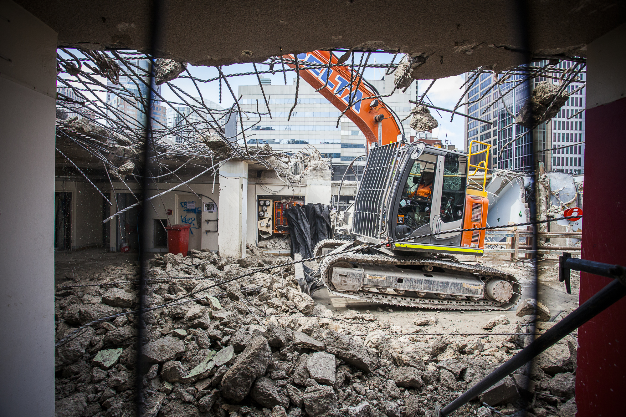 Removal of Level 13 - 301 George St C