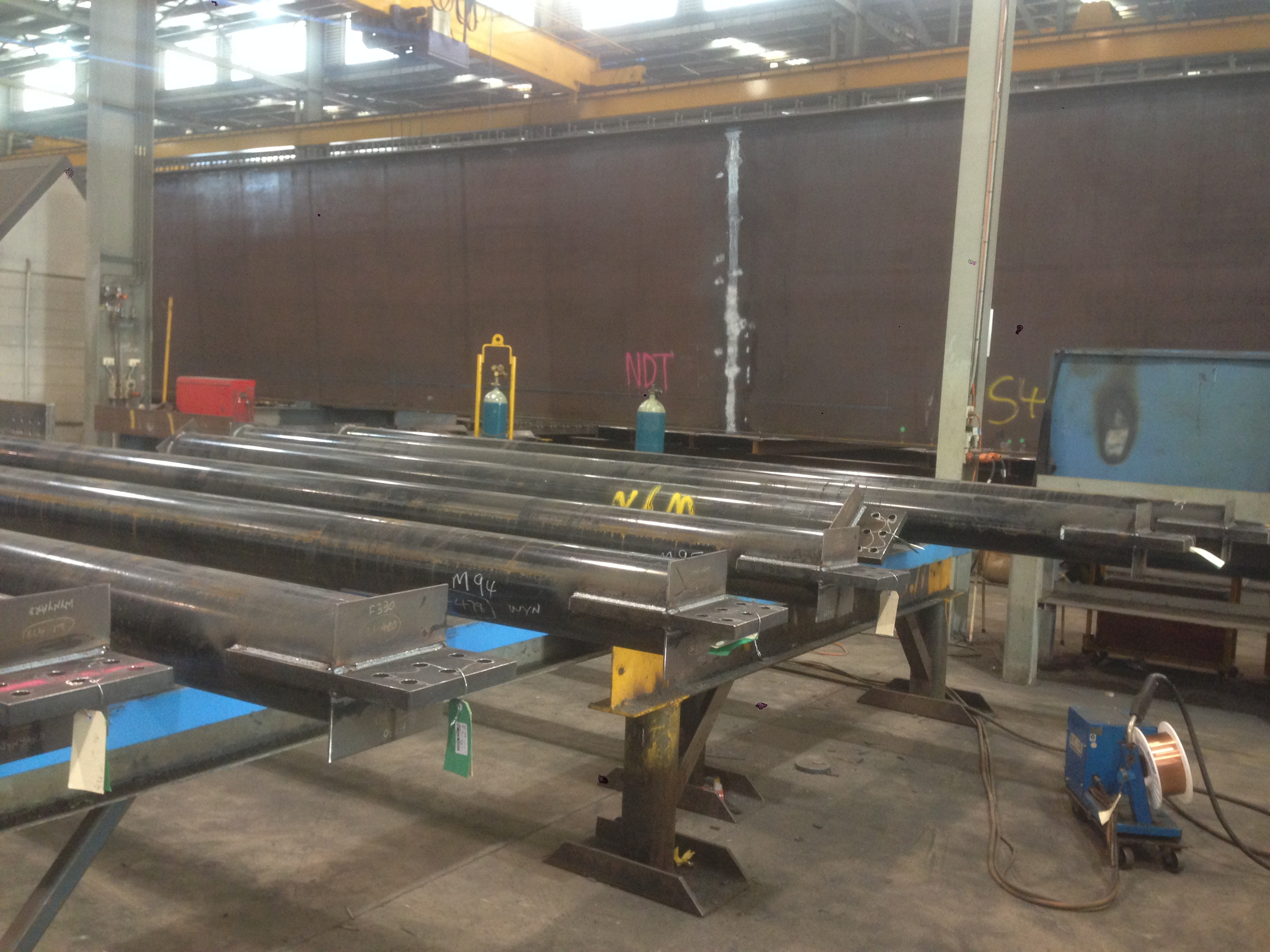 10 Both - Superdeck Fabrication - Columns and Braces (2)