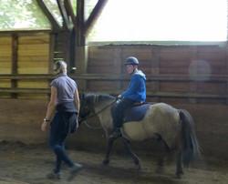Equitation adaptée