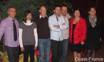 REVUE DE PRESSE - Ouest-France - Candé - L'élite sportive rassemblée lors d'une soirée solidaire