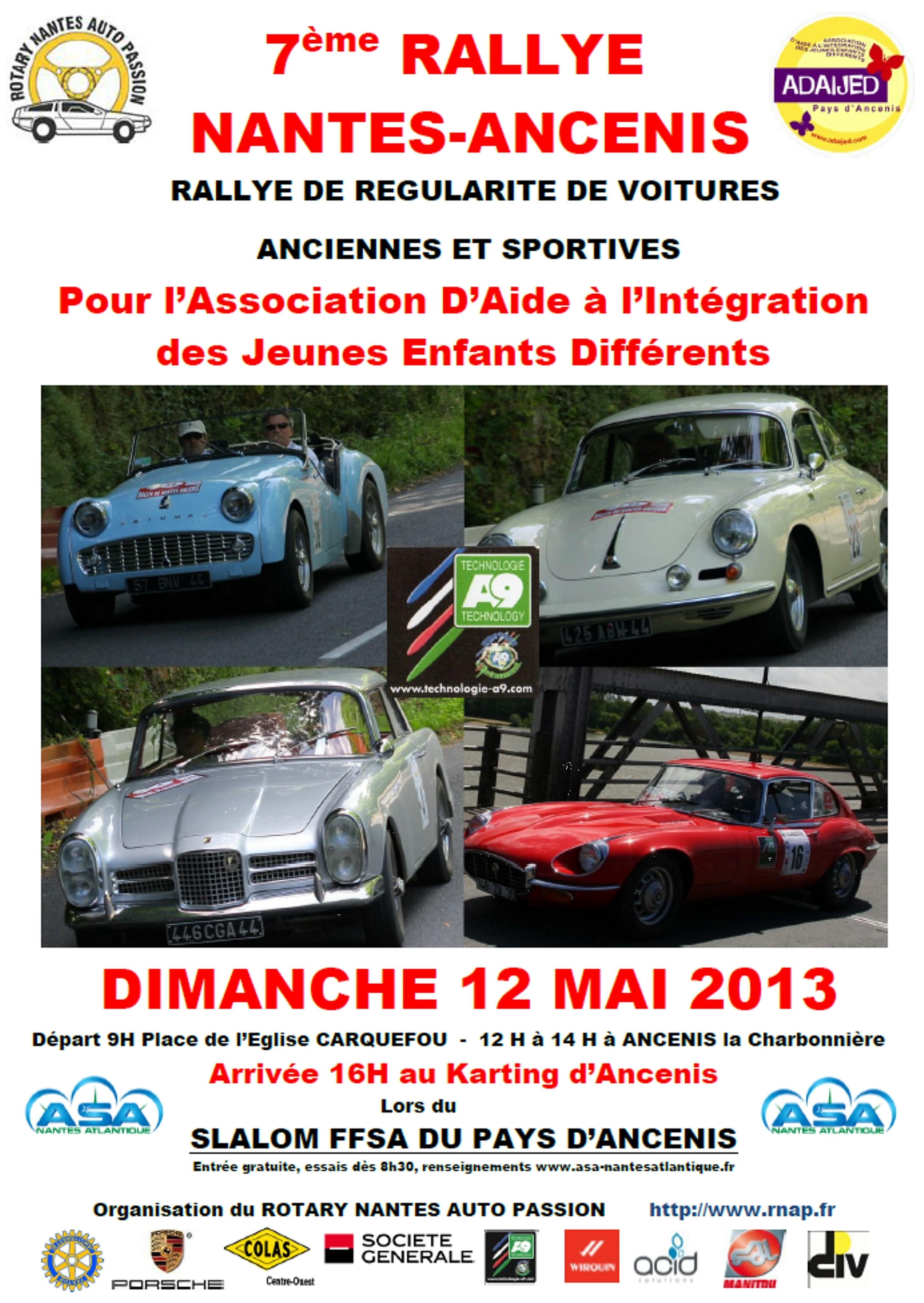 Rallye Rotary 2013
