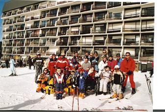 Février 2006 : L'aventure du premier séjour au ski pour des familles de l'ADAIJED ...