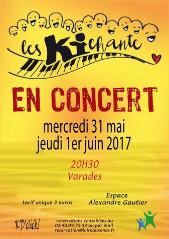 AGENDA SPECTACLE - Les Kichante en concert