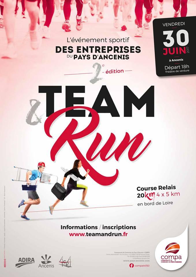 Affiche Team & Run 2017