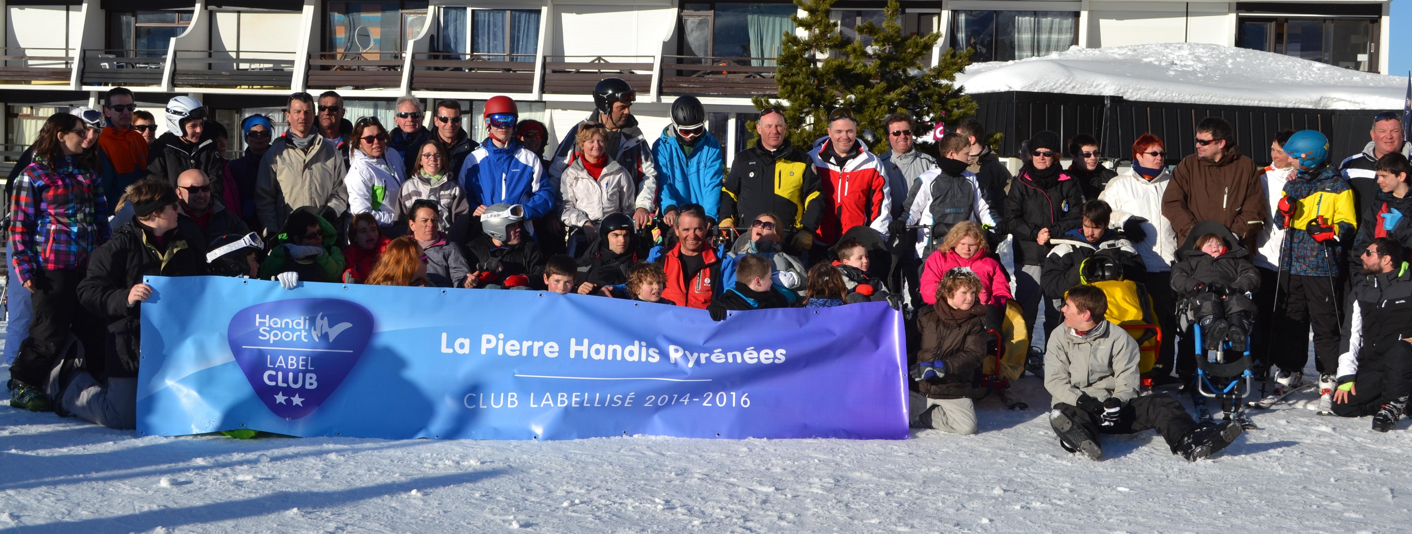 La Pierre Handiski Pyrénnées 2015